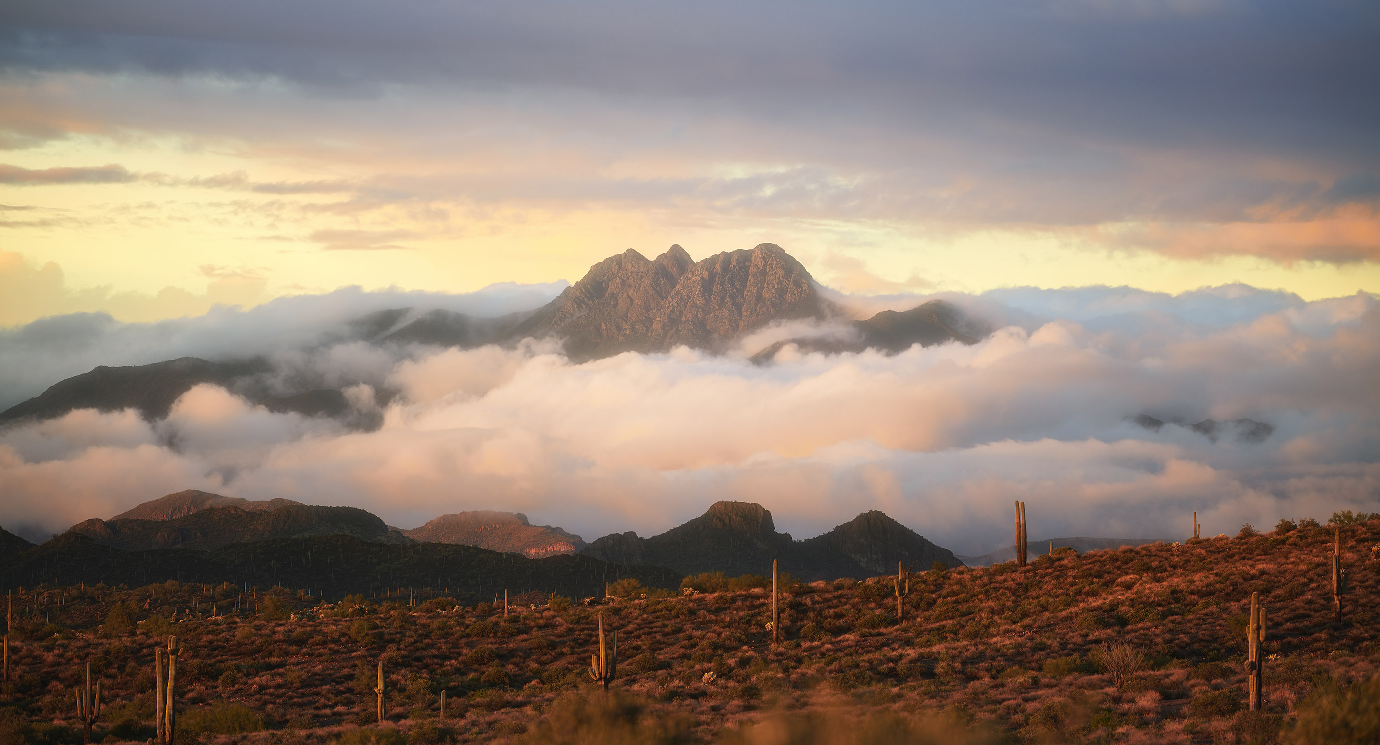 arizona landscape photography, four peaks arizona, photos of four peaks mountain
